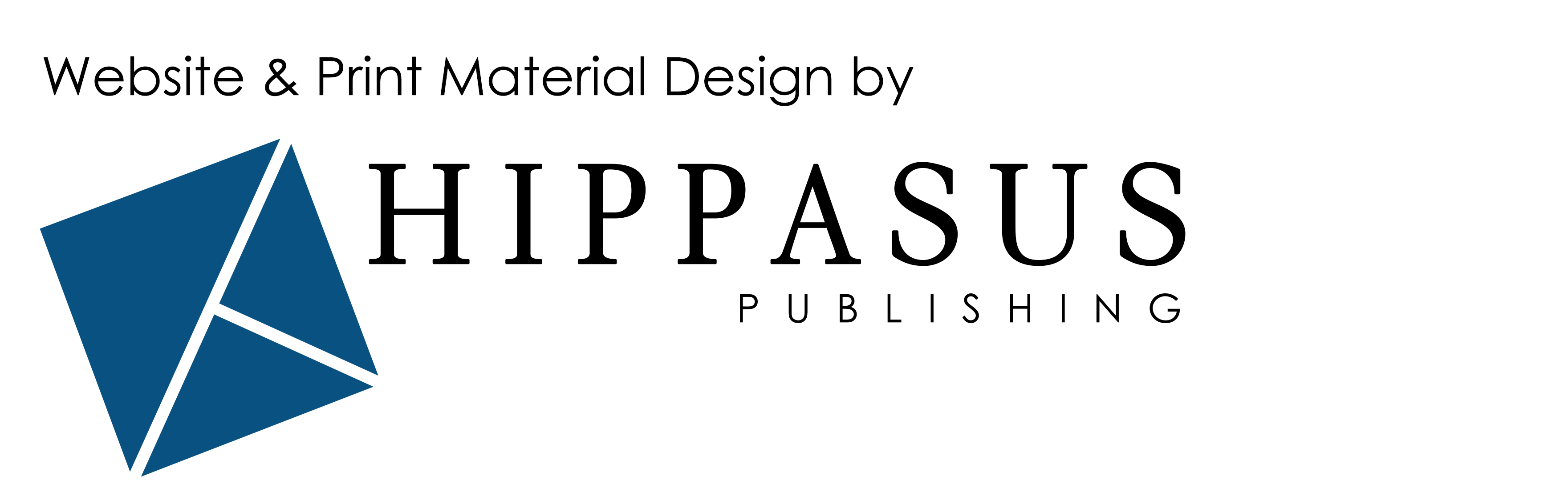 Website & Print Material Design by Hippasus Publishing